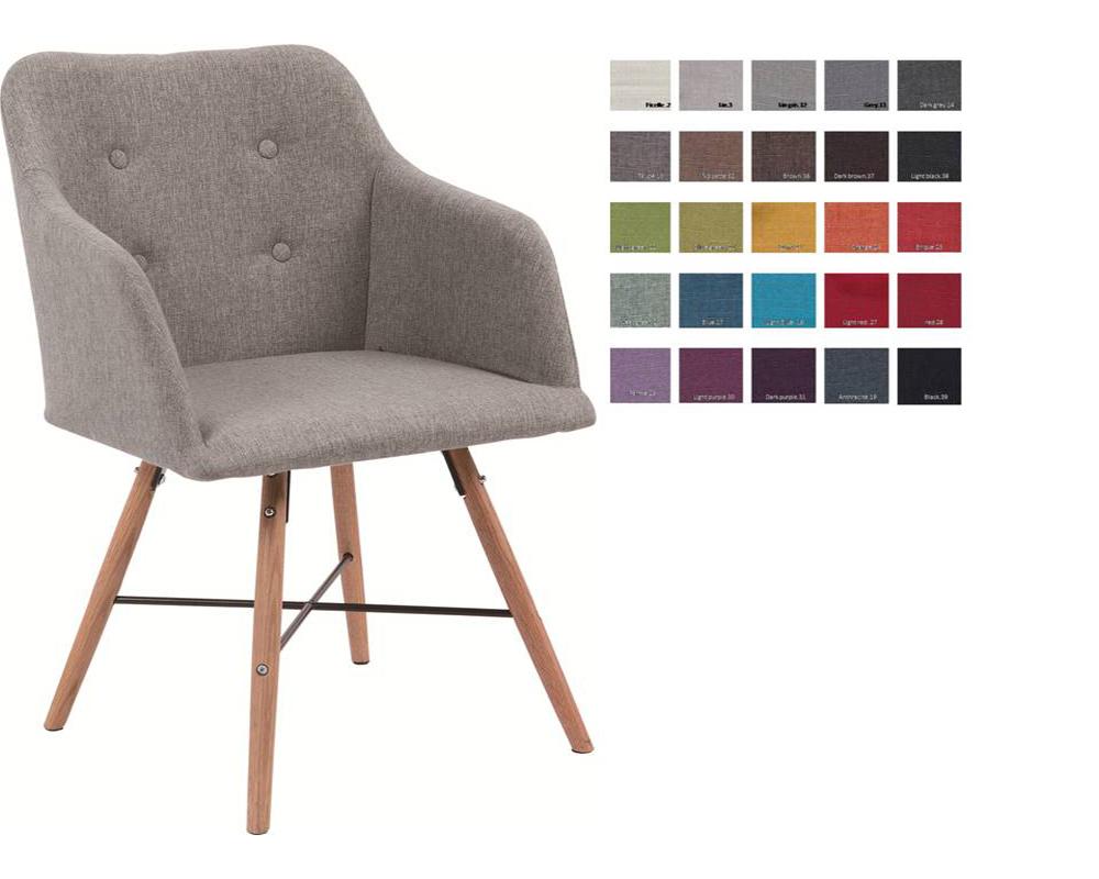 usine17 plateform2 chaises scandinaves rembourres bd427 v1 et tissu chene - Chaise Scandinave Rembourree