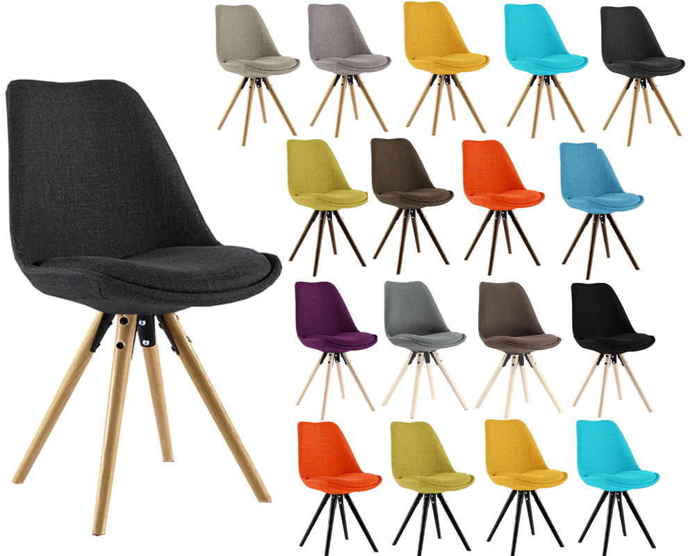 Chaises Scandinaves Rembourrees