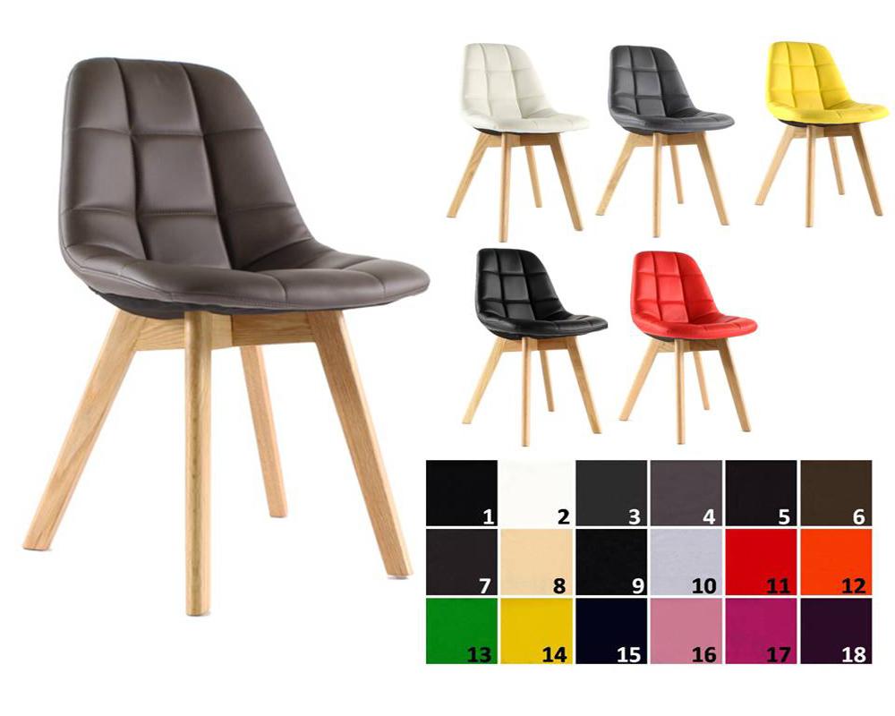 usine17 plateform2 chaises scandinaves rembourres bd6011 et pu pieds chene - Chaise Scandinave Rembourree