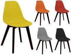 usine17 plateform2 chaises scandinaves non rembourres bd5938 et pp pied hevea noir - Pied De Chaise Scandinave